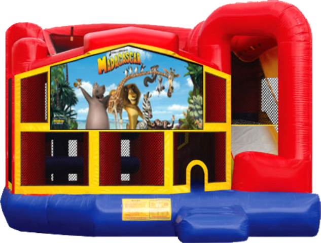 MADAGASCAR 5 IN 1 COMBO (wet or dry)